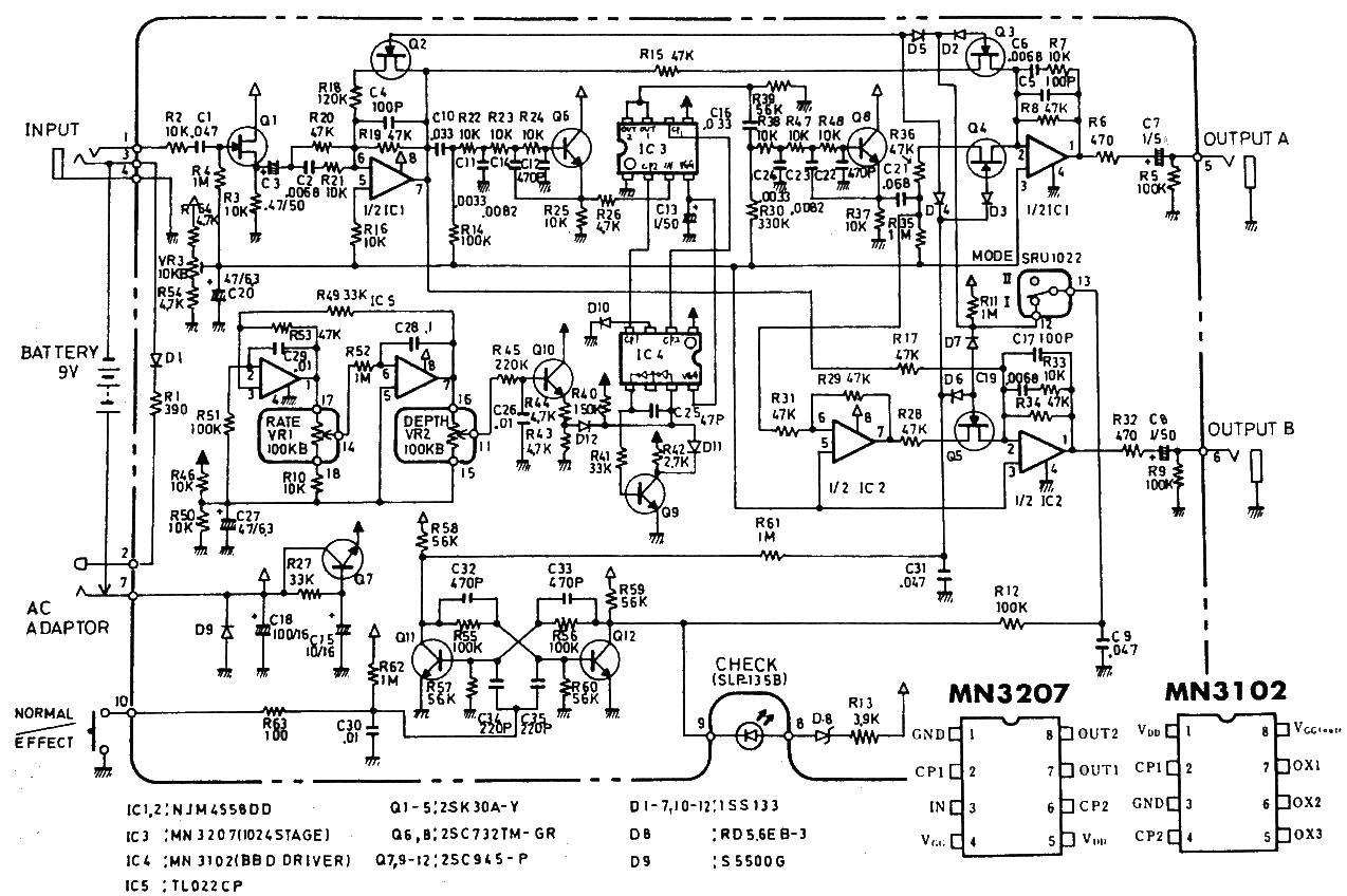 Need Debug help on Boss CE3 modded to CE2
